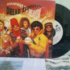 Discos de vinilo: DREAD ZEPPELIN STAIRWAY TO HEAVEN + 1 SINGLE GERMANY 1991 PDELUXE. Lote 172661837