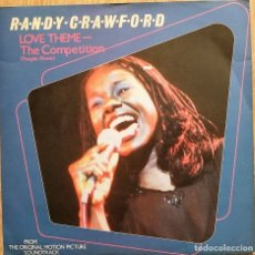 Discos de vinilo: RANDY CRAWFORD / LALO SCHIFRIN ?– LOVE THEME - THE COMPETITION (PEOPLE ALONE) - SINGLE UK 1981. Lote 172671899