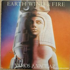Discos de vinilo: EARTH, WIND & FIRE – VAMOS A VACILAR - SINGLE SPAIN 1981. Lote 172679129