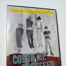 Discos de vinilo: DVD: COLOR ME OBSESSED, A FILM ABOUT THE REPLACEMENTS - DOCUMENTAL - PUNK - . Lote 172682878