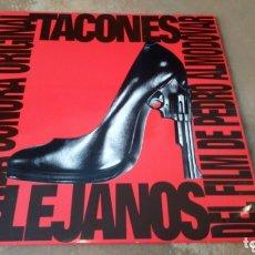 Discos de vinilo: TACONES LEJANOS - RYUICHI SAKAMOTO - BANDA SONORA - PEDRO ALMODOVAR - LP VINILO BUEN ESTADO. Lote 172683480
