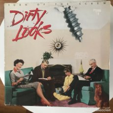 Discos de vinilo: DIRTY LOOKS - TURN OF THE SCREW - LP ATLANTIC ALEMANIA 1989. Lote 172684172