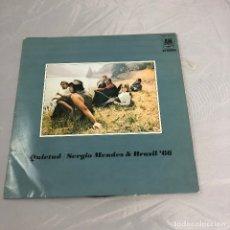 Discos de vinilo: DISCO VINILO LP, QUIETUD SERGIO MENDES & BRASIL '66.. Lote 172684503