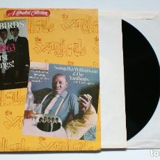 Discos de vinilo: 2 X LP - THE YARDBIRDS FIRST RECORDINGS 1963 + YARDBIRDS & SONNY BOY WILLIAMSON - MOD R&B. Lote 172686953