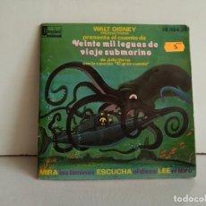 Discos de vinilo: VEINTE MIL LENGUAS DE VIAJE SUBMARINO . Lote 172688632