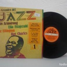 Discos de vinilo: LP VINILO LOS GRANDES DEL JAZZ LOUIS ARMSTRONG . Lote 172691657
