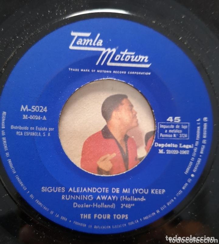 Discos de vinilo: FOUR TOPS - SIGUES ALEJANDOTE DE MI - Foto 2 - 172694579