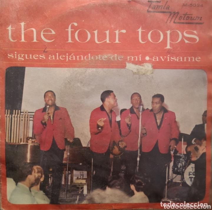 FOUR TOPS - SIGUES ALEJANDOTE DE MI (Música - Discos - Singles Vinilo - Pop - Rock Internacional de los 50 y 60)