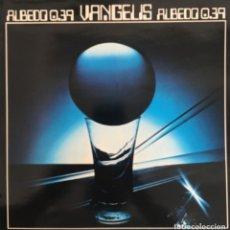 Discos de vinilo: VANGELIS ALBEDO 0.39 RCA VICTOR SPL1-9410 LP REEDICIÓN SPAIN VINILO EXCELENTE, COMO NUEVO. Lote 172701849
