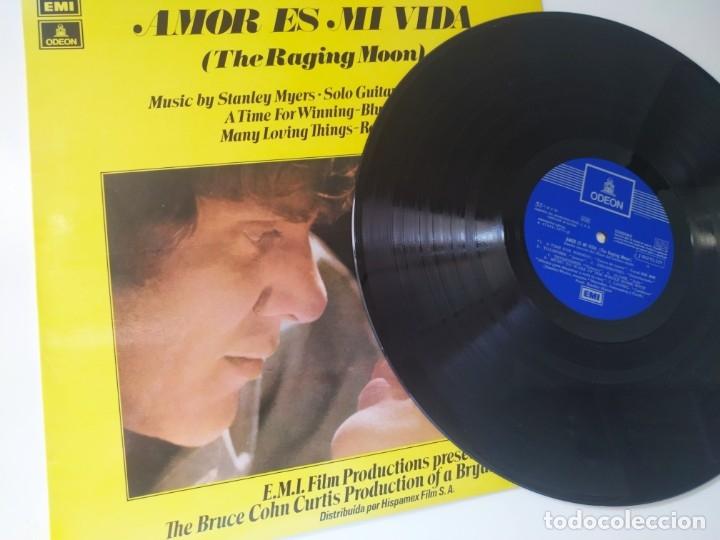 AMOR ES MI VIDA / BSO / LP / EMI ODEON 1971 / BUEN ESTADO (Música - Discos - LP Vinilo - Bandas Sonoras y Música de Actores )
