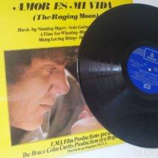 Discos de vinilo: AMOR ES MI VIDA / BSO / LP / EMI ODEON 1971 / BUEN ESTADO. Lote 172709874