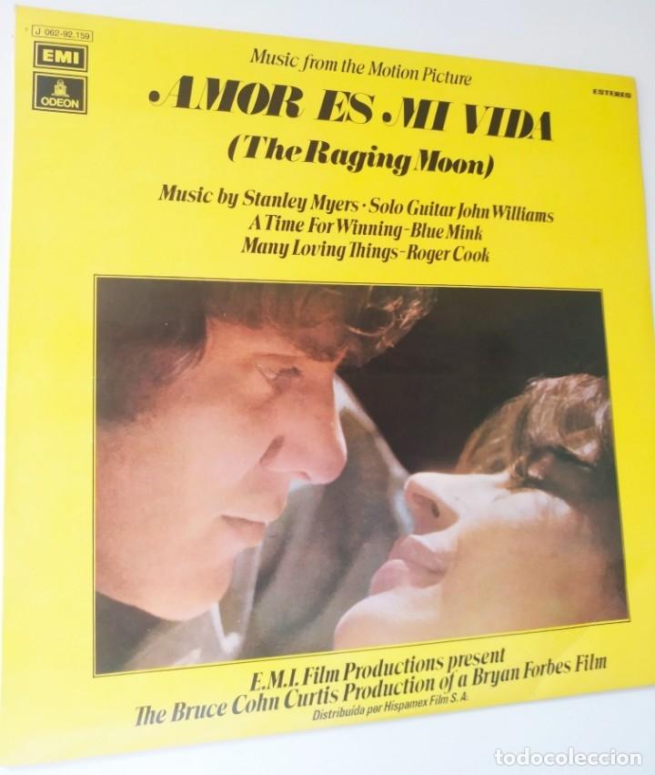 Discos de vinilo: AMOR ES MI VIDA / BSO / LP / EMI ODEON 1971 / BUEN ESTADO - Foto 2 - 172709874