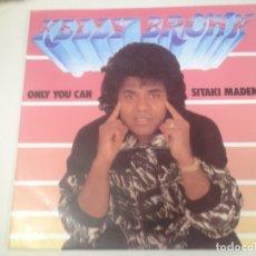 Discos de vinilo: MAXI SINGLE DISCO VINILO KELLY BROWN ONLY YOU CAN. Lote 172710253