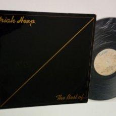 Discos de vinilo: LP: URIAH HEEP - THE BEST OF... (BRONZE, 1975) - RECOPILATORIO 1ª ÉPOCA 1970-1975 -. Lote 172706102