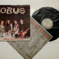 Discos de vinilo: LP: OBUS - PODEROSO COMO EL TRUENO (CHAPA DISCOS, 1982) - EN EXCELENTE ESTADO -. Lote 172707144