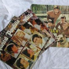 Discos de vinilo: 3 SINGLES VINILO DE NUESTRA PANDILLA FIRMADOS 1971-1973. Lote 172719292