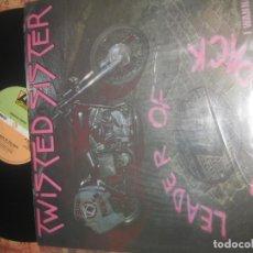 Discos de vinilo: TWISTED SISTER - LEADER OF THE PACK / I WANNA ROCK 12 PULGADAS (ATLANTIC 1983) ORIGINAL ENGLAND. Lote 172725895
