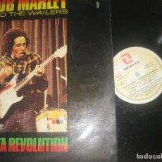 Discos de vinilo: BOB MARLEY AND THE WAILERS - RASTA REVOLUTION ENCARTE ( ZAFIRO . 1980) EDITADO ESPAÑA. Lote 172726675