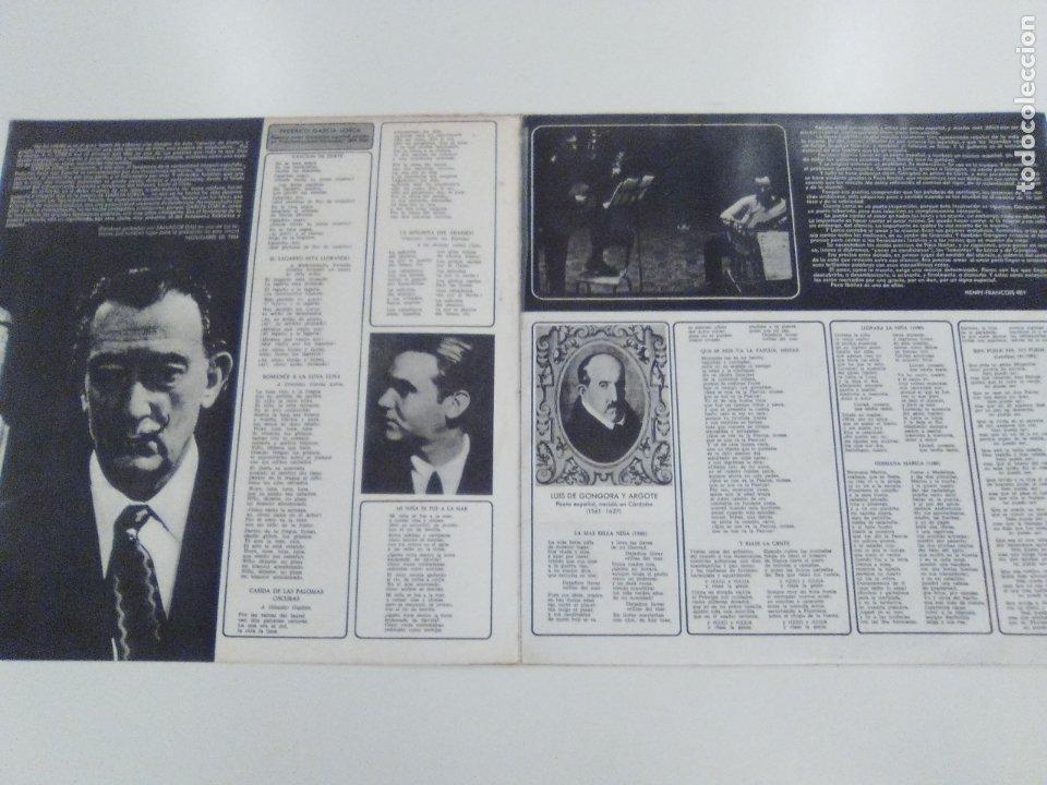 Discos de vinilo: PACO IBAÑEZ Federico Garcia Lorca Luis de Gongora ( 1967 POLYDOR ESPAÑA ) - Foto 3 - 172732320