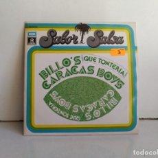 Discos de vinilo: CARACAS BOYS. Lote 172738582