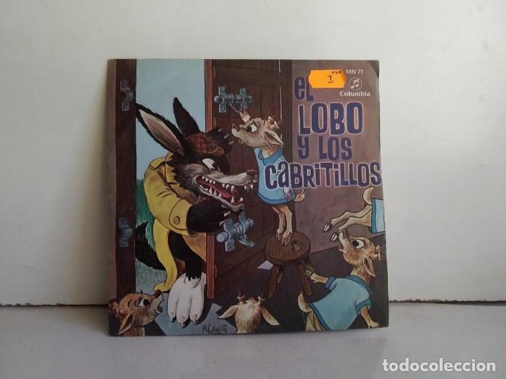 EL LOBO Y LOS CABRITILLOS (Música - Discos - Singles Vinilo - Música Infantil)