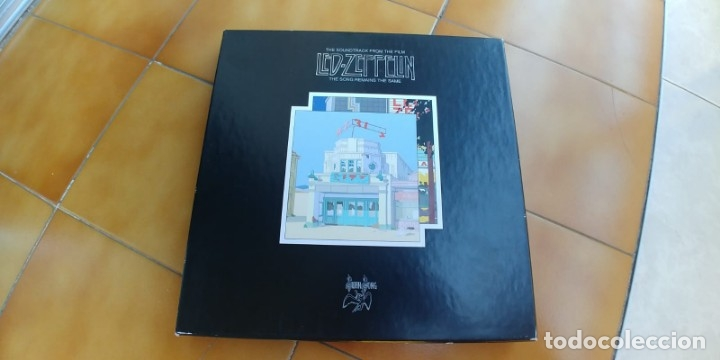 LED ZEPPELIN-THE SONG REMAINS THE SAME-BOX 4 LP + LIBRETO (Música - Discos - LP Vinilo - Heavy - Metal)