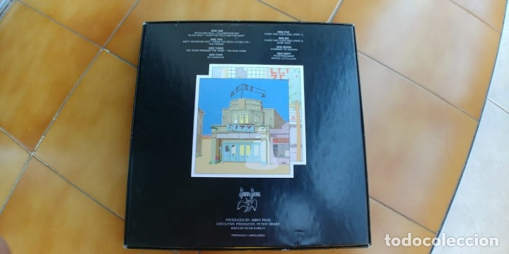 Discos de vinilo: LED ZEPPELIN-THE SONG REMAINS THE SAME-BOX 4 LP + LIBRETO - Foto 2 - 172753648