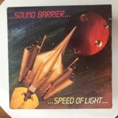 Discos de vinilo: SOUND BARRIER - SPEED OF LIGHT - LP METAL BLADE 1986. Lote 172756597
