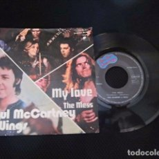 Discos de vinilo: BEATLES PAUL MCCARTNEY SINGLE ORIGINAL EMI ODEON ESPAÑA EXCELENTE CONSERVACION SIN USO. Lote 172757155