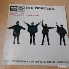 Discos de vinilo: BEATLES, THE, EP, HELP ! + 3, AÑO 1965. Lote 172757802