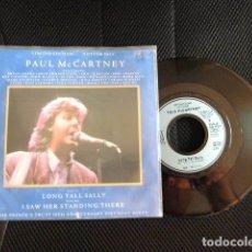 Discos de vinilo: BEATLES PAUL MCCARTNEY SINGLE INGLES EDICION LIMITADA CONCERT PRINCES TRUST NUEVO A ESTRENAR. Lote 172765340