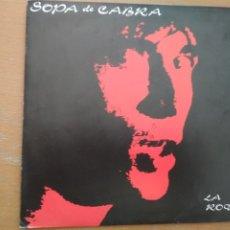 Discos de vinilo: SOPA DE CABRA CARRER DELS TORRATS SINGLE. Lote 172770780