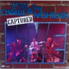 Discos de vinilo: LITTLE CHARLIE AND THE NIGHCATS - CAPTURED ALLIGATOR EDIC. INGLESA - 1991. Lote 172771419
