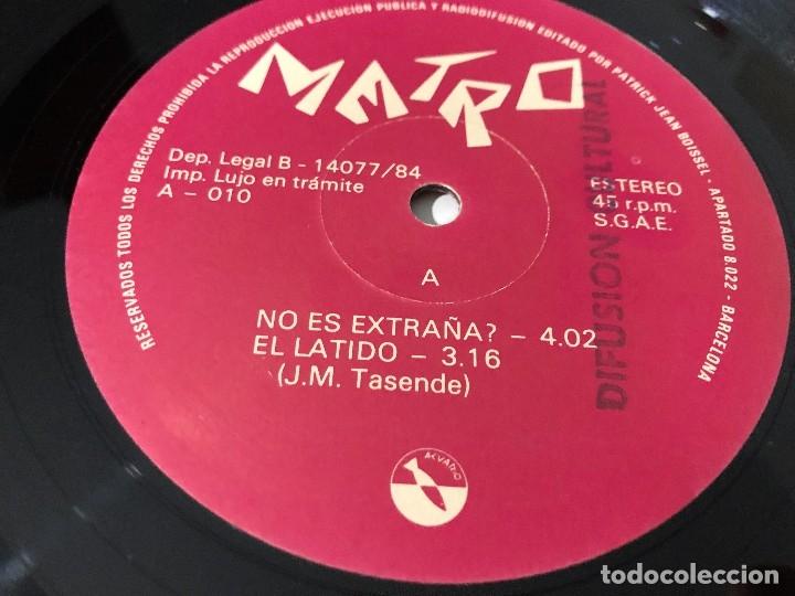 Discos de vinilo: Metro - No Es Extraña? Maxisingle Promocional - Foto 3 - 172774944
