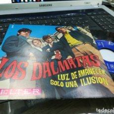 Discos de vinilo: LOS DALMATAS SINGLE LUZ DE AMANECER 1968. Lote 172777198