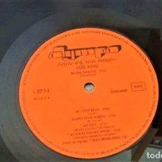 Discos de vinilo: LOU KING : GOOD-BYE ELVIS PRESLEY. Lote 172779212