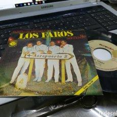 Discos de vinilo: LOS FAROS SINGLE PROMOCIONAL EL SOLTERON 1967. Lote 172780212