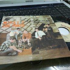 Discos de vinilo: MICKY Y LOS TONYS SINGLE PROMOCIONAL EL PROBLEMA DE MIS PELOS 1967. Lote 172782413
