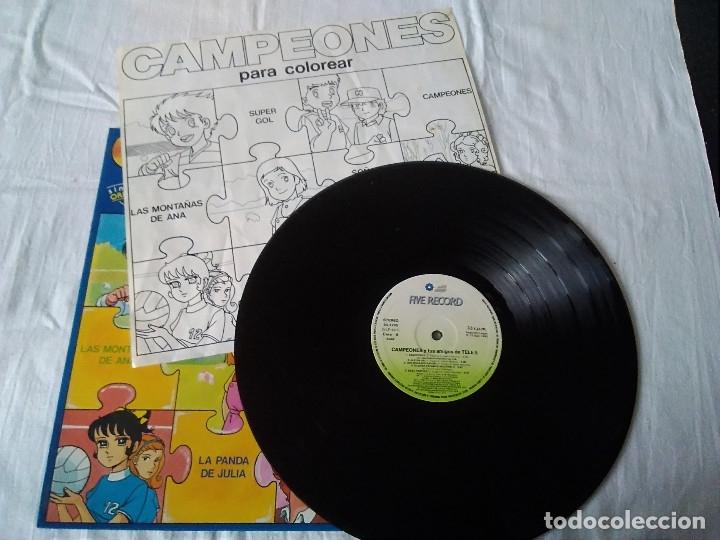 Discos de vinilo: 34-LP CAMPEONES y tus amigos de tele5, 1990 - Foto 2 - 172796698