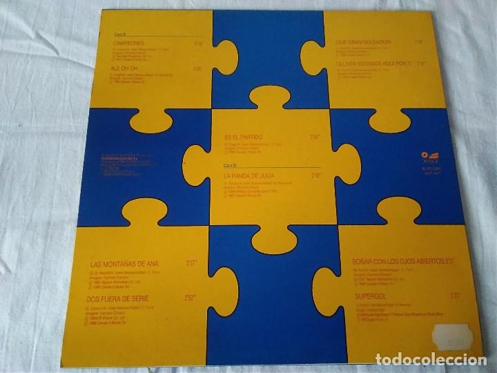 Discos de vinilo: 34-LP CAMPEONES y tus amigos de tele5, 1990 - Foto 3 - 172796698