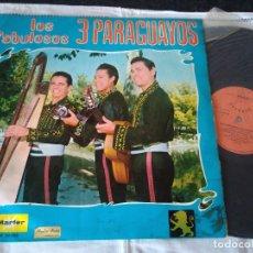 Discos de vinilo: 15-LP LOS FABULOSOS 3 PARAGUAYOS,1969. Lote 172797094