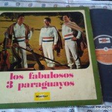 Discos de vinilo: 14-LP LOS FABULOSOS 3 PARAGUAYOS, 1971. Lote 172797153