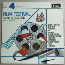 Discos de vinilo: MUSICA, DISCO VINILO LP´S, LP - ORQUESTA FRANK CHACKSFIELD, FILM FESTIVAL - CAIXA TARRAGONA - DECCA. Lote 172803813