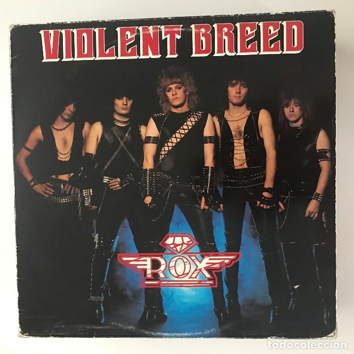 ROX - VIOLENT BREED - LP MUSIC FOR NATIONS UK 1983 (Música - Discos - LP Vinilo - Heavy - Metal)