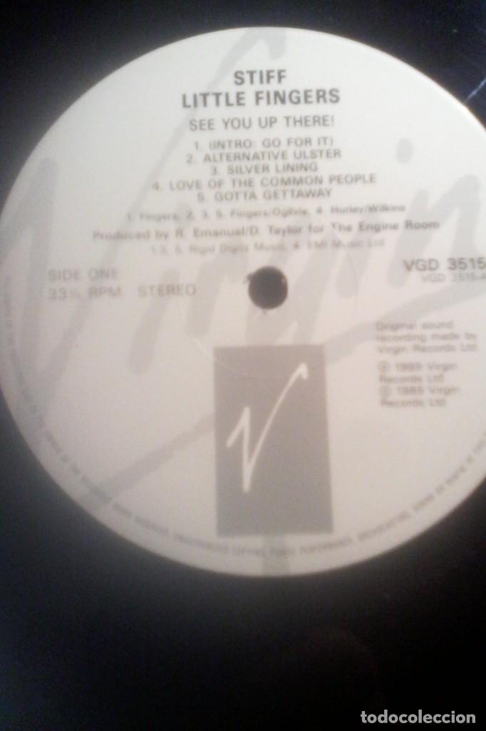 Discos de vinilo: STIFF LITTLE FINGERS - SEE YOU UP THERE ! - Foto 5 - 172811874