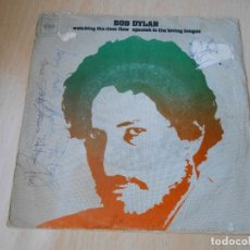 Discos de vinilo: BOB DYLAN, SG, WATCHING THE RIVER FLOW + 1, AÑO 1971. Lote 172812727