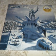 Discos de vinilo: HELLOWEEN - MY GOD GIVEN RIGHT 2 LP GOLDEN LIMITADO A 100 COPIAS LP VINYL VINILO ( SELLADO ). Lote 172817705