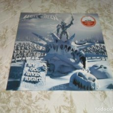 Discos de vinilo: HELLOWEEN - MY GOD GIVEN RIGHT 2 LP ORANGE LIMITADO A 100 COPIAS LP VINYL VINILO ( SELLADO ). Lote 172817962