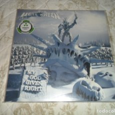 Discos de vinilo: HELLOWEEN - MY GOD GIVEN RIGHT 2 LP GREEN LIMITADO A 300 COPIAS LP VINYL VINILO ( SELLADO ). Lote 172818805