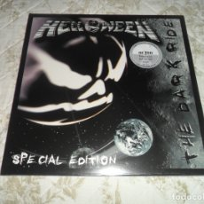 Discos de vinilo: HELLOWEEN - THE DARK RIDE 2 LP SILVER LIMITADO A 100 COPIAS LP VINYL VINILO ( SELLADO ). Lote 172819185